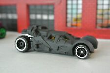 Hot Wheels Dark Knight The Tumbler Batmobile - Black - Loose - 1:64