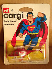 CORGI DAILY PLANET JETCOPTER SUPERMAN  NEW!!!!!!!!!!