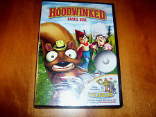 HOODWINKED BONUS DISC DVD ONLY Includes A WOBOTS CHRISTMAS Childrens SEALED NEW