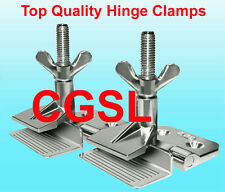 4 Pcs Heavy-Duty Silk Screen Printing Hinge Clamps Butterfly Frame Hinge Clamp