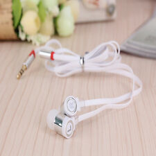 White 3.5mm Magic Earbud Earphone Headset  For All Cell Phone Laptop Tablet