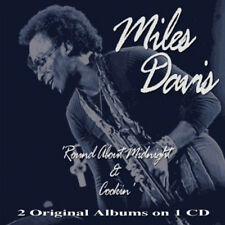 MILES DAVIS ~  ROUND ABOUT MIDNIGHT AND COOKIN' NEW + SEALED CD JAZZ ORIGINALS