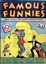 Famous Funnies #1 Photocopy Comic Book, Mutt and Jeff