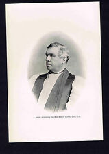 Thomas March Clark -Bishop Episcopal Diocese Rhode Island--1895 Portrait Print