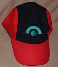Pokemon Go Trainer Hat Red & Black Pokeball Ball Cap Ash Katchem Outfit Sungear