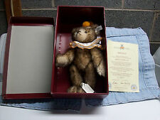 Steiff Mohair Teddy Clown Bear 1928 Limited Edition Club 1993/94 Mint In Box!
