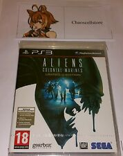 Aliens Colonial Marines LIMITED EDITION PS3 New Sealed UK PAL Sony PlayStation 3