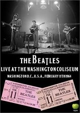 THE BEATLES LIVE AT THE WASHINGTON COLISEUM 1964 DVD john lennon paul mccartney
