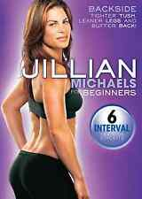 EXERCISE DVD - Jillian Michaels FOR BEGINNERS BACKSIDE - 6 Workouts!