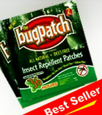 "BEST MOSQUITO/INSECT REPELLENT BUG PATCH*10 WKs. 60 PATCHES ""DEET FREE"""