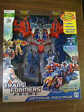 Transformers Prime Cyberverse 2-in-1 Robot Optimus Maximus NEW FREE SHIP US