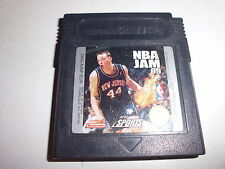 Nintendo   Game Boy Color  NBA Jam 99