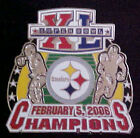 Pittsburgh Steelers Super Bowl 40 XL Champions Comm Series Pin Willabee & Ward
