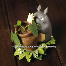 Resin Totoro Summer Cacti Succulent Plant Pot Desktop Flower Planter Mini Garden