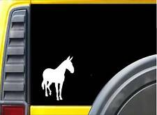 Mule K333 6 inch decal long ears donkey sticker
