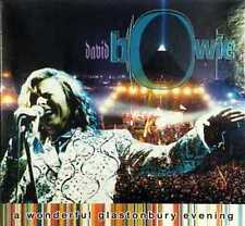 DAVID BOWIE A Wonderful Glastonbury Evening 2CD Live PILTON UK June 25 2000 RARE