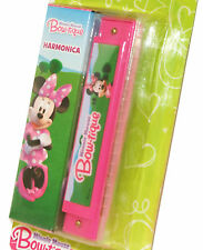 Minnie Mouse Harmonica Mouth Organ Plus Case