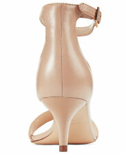 NIB New! Nine West Leisa Two-Piece Kitten Heel Sandals Sz: 7
