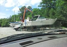 project boat Sea Ray 460 express cruiser diesel no reserve