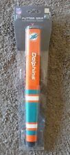 MIAMI DOLPHINS Putter Grip NFL with Removable Ball Marker