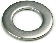 Stainless Steel Flat Washer Series 9C816L, 1/2 ID x .875 OD x 1/32 THK, Qty 100