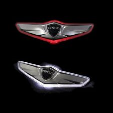 TRUNK WING LED EMBLEM REAR BADGE For 2016 Hyundai GENESIS sedan