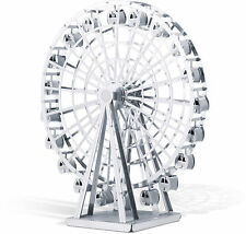 Riesenrad Ferris Wheel 3D-Metall-Bausatz Silver-Edition Metal Earth 1044