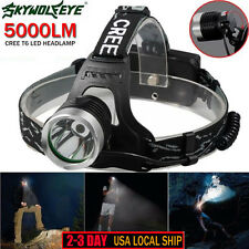 5000 LM CREE XM-L XML T6 LED Headlamp 18650 Headlight flashlight Head Light Lamp