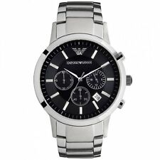 Emporio Armani exclusive AR2434,mens steel chain.NEW.chronograph watch