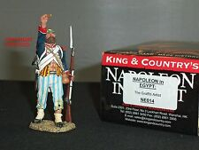 KING AND COUNTRY NE14 NAPOLEON IN EGYPT GRAFFITI ARTIST METAL TOY SOLDIER FIGURE