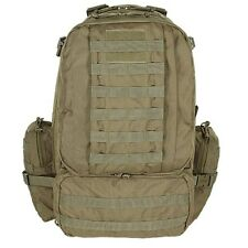 Voodoo Tactical Tobago Hunting Hiking Cargo Backpack w/ Adjustable Straps Coyote