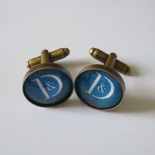 PAIR OF CUSTOM BRONZE, COPPER OR SILVER MADE TO ORDER CUFFLINKS WITH YOUR IMAGE