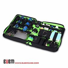 BUBM ACCESSORIES STORAGE CARRY BAG CASE FOR CABLE MEMORY CARDS USB (LARGE)