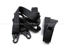 China Made Airsoft Paintball Nylon CQB 2 Point Sling For P90 Rifle Black #07