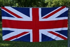 British Union Jack (UK Great Britain) England 30 x 60 Beach Towel (Cotton Twill)