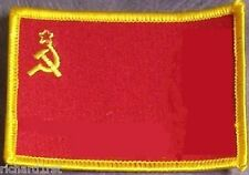 Embroidered International Patch National Flag of USSR Soviet Russia NEW flag