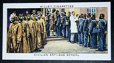 Postal Workers Anti-Gas School    1930's Vintage Card VGC
