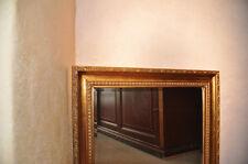 Antik Gold Spiegel Wandspiegel 134x54 cm Goldspiegel Designer