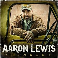Sinner - Aaron Lewis (CD, 2016, Dot Records) - FREE SHIPPING