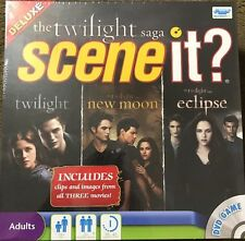 NEW! Scene It? Deluxe Edition The Twilight Saga DVD Game - All 3 Movies *Sealed*