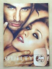 B343-Advertising Pubblicità-2012 - GUILTY GUCCI - PROFUMO