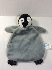 Comfort Pure Happy Feet Mumble Penguin Lovey Comforter Security Soft Toy Warner