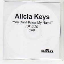 (FO81) Alicia Keys, You Don't Know My Name - 2003 DJ CD