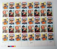 US Postage Stamps 1 Sheet Scott  #2445 - 48 CLASSIC MOVIES  25 Cent  MNH