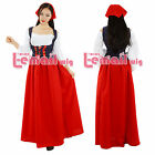 RENAISSANCE FAIR MEDIEVAL PIRATE PEASANT COSTUME SKIRT BODICE GOWN SUN DRESS