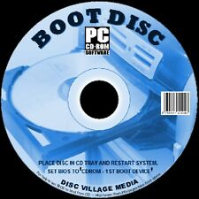 BOOT DISK EASY REPAIR/RESCUE/TEST All WINDOWS SYSTEMS ALL PC/LAPTOPS 2 DISC SET
