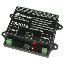Digikeijs DR4018 16-Kanal Schaltdecoder H0 digital z21 Modellbahn Roco Piko TT