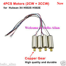 4Pcs CW CCW Motor Engine for Hubsan X4 H502S H502E RC Quadcopter Drone Parts
