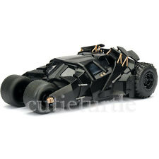 Jada Metals 2008 The Dark Knight Batman Batmobile Tumbler 1:24 98264 Black