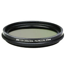 S+ Ultra Slim Multi-Couches CPL Filtre Polarisant pour Objectif Photo 37mm